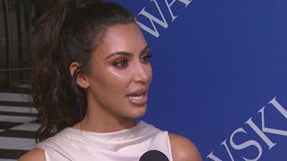 Kim Kardashian Admits She Screamed and Cried Following Kanye West's Recent Outbursts