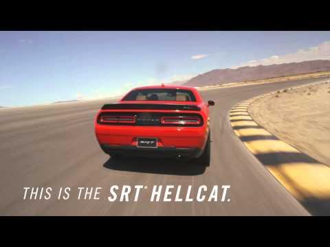 717-konny Challenger SRT Hellcat. Proszę zapiąć pasy...