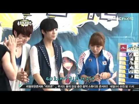 120807 NU'EST @ Show Olympic Champion Ep 05