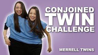 CONJOINED TWIN CHALLENGE - MerrellTwins