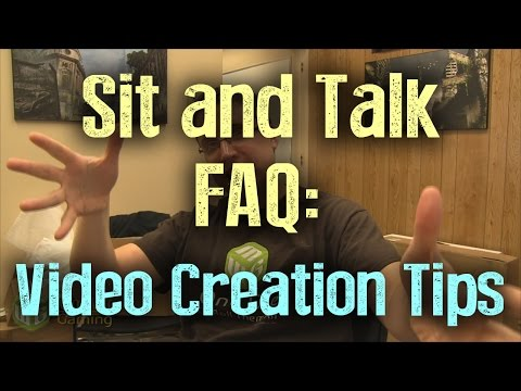 Sit and Talk FAQ:  Video Creation Tips - miniwargaming  - 1fksxapwcFs -