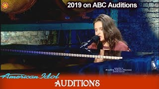"Madison VanDenburg 16 yo ""Speechless"" the NEXT KELLY CLARKSON?    American Idol 2019 Auditions"