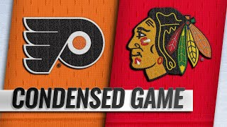 03/21/19 Condensed Game: Flyers @ Blackhawks