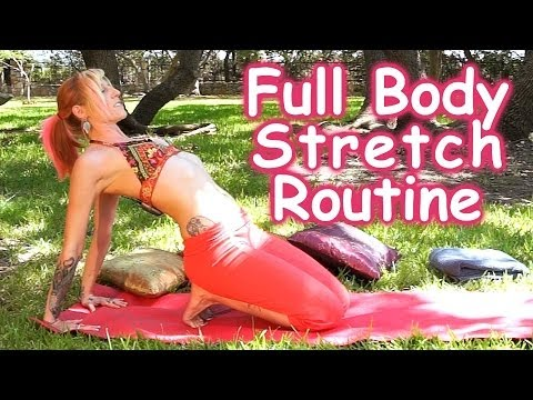 20 minute full body stretching routine for flexibility