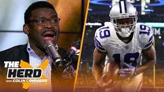 Michael Irvin discusses Amari Cooper's importance, Jerry Jones & Cowboys season | NFL | THE HERD