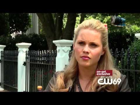 Claire Holt Interview - YouTube