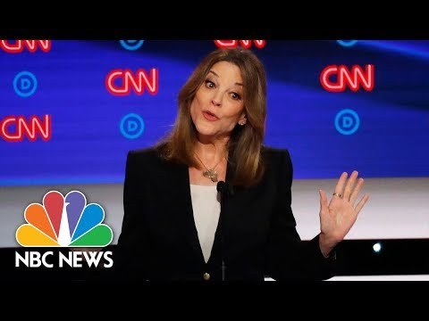 'Dark Psychic Force': Williamson Sounds Off On Race, Reparations | NBC News