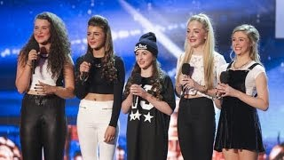 Britain's Got Talent S08E06 SweetChix Girl Band From Essex Smash their Audition
