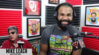 UNCUT: Mike Leach on OU defensive coordinator Alex Grinch and... hens