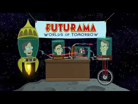"Jam City's Futurama: Worlds of Tomorrow - Official Launch Date Trailer - ""Science Heads"""