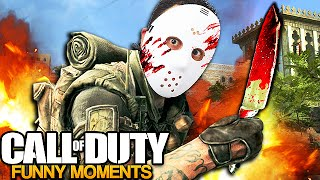 Serial Killer TERRIFIES Players on Call of Duty! (Voice Trolling)