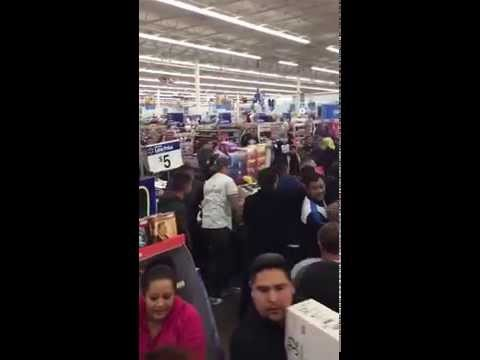 Black Friday TV Sale Leads To Riot At A Walmart In El Paso