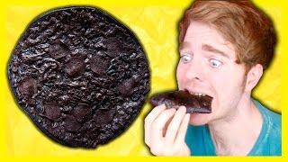 MAKING BLACK PIZZA!