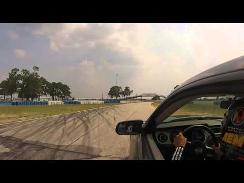 600hp Street Car Having Fun at Sebring