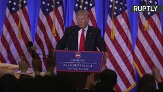 Trump holds first press conference since winning US Presidential election