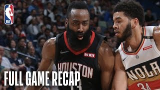 Rockets vs Pelicans | Houston Clinches Playoff Spot | March 24, 2019