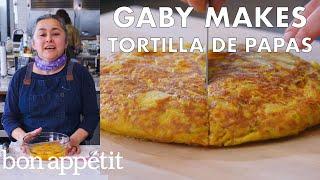 Gaby Makes Tortilla de Papas | From the Test Kitchen | Bon Appétit