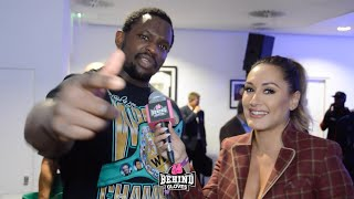 """""""S*CK THESE NUT$!"""" DILLIAN WHYTE FIRES OFF MESSAGE TO DEONTAY WILDER AFTER DEFEATING OSCAR RIVAS!"""