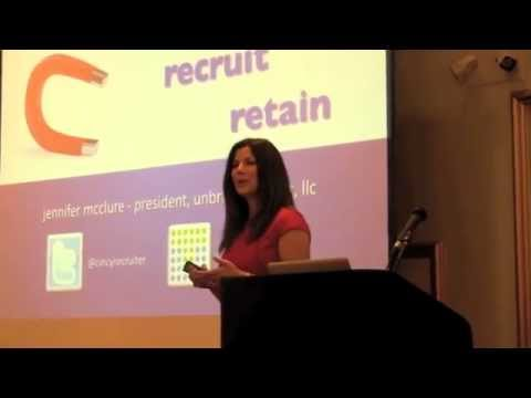 Jennifer McClure - Unbridled Talent LLC - Speaking Preview Video 9 2011