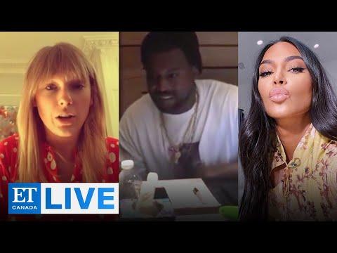 Kim Kardashian, Taylor Swift React To Leaked Phone Call