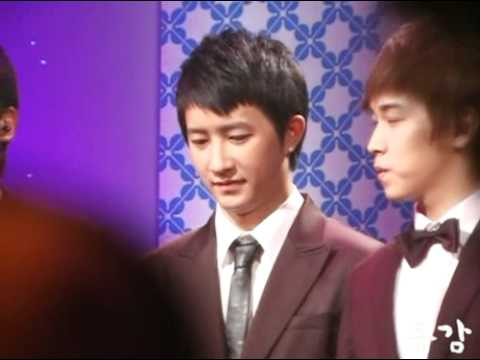 [Fancam] 090411 Super Junior Choc - Hankyung focus - Saturday Night Talk [동감]