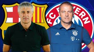 Barcelona vs Bayern Munich, Champions League, Quarter-Final - TACTICAL PREVIEW