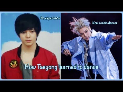 The story of Taeyong's dancing skills