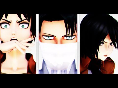 Levigami (Attack on Titan x Noragami Crossover),
