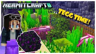 Hermitcraft S8: Mini Maze TEGG Game! We Have the Egg! | Episode 6