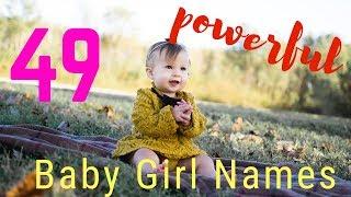 🎀 POWERFUL BABY GIRL NAMES 👶🎀