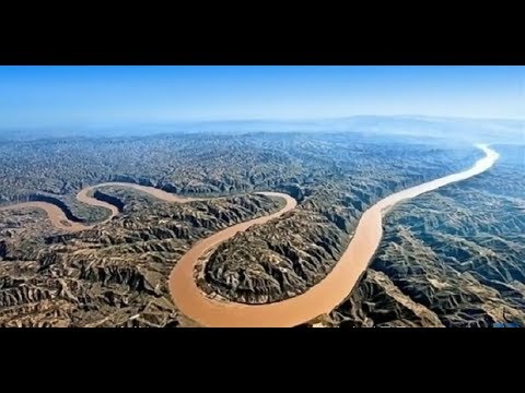 The Yellow River in Bird's Eye View (鳥瞰黄河)