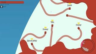 Paper.io 2 [Teams] Map Control: 100.00%