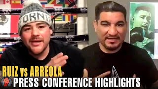 HIGHLIGHTS | ANDY RUIZ JR VS CHRIS ARREOLA KICK OFF PRESS CONFERENCE