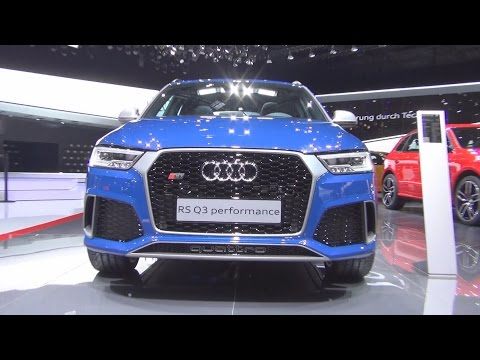 Audi RS Q3 Performance 2.5 TFSI S Tronic Quattro 270 kW (2016) Exterior and Interior in 3D