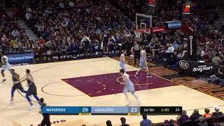 2nd Quarter, One Box Video: Cleveland Cavaliers vs. Dallas Mavericks