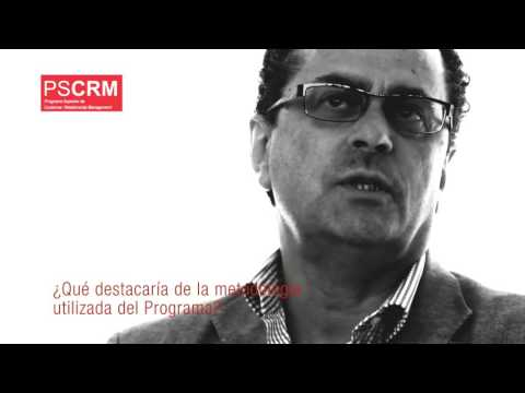 Protagonistas PSCRM: Luis Egusquiza, Director del Programa Superior Customer Relationship Management