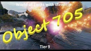 World of Tanks Object 705 Tier 9 Russian Heavy Tank - icarusm!