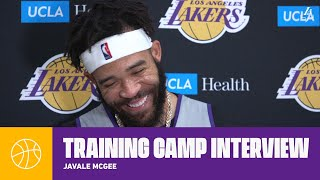 We have bigs practices on passing and it shows in the game | Lakers Training Camp 2019