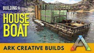 Motorboat Build and Testing! Ark Survival Evolved! Videos
