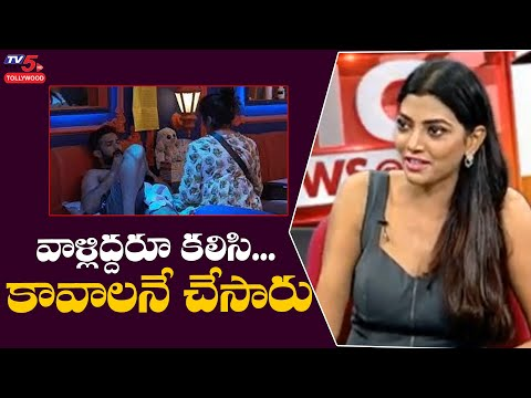 Bigg Boss 5 fame Lahari Shari shocking comments on anchor Ravi, Priya