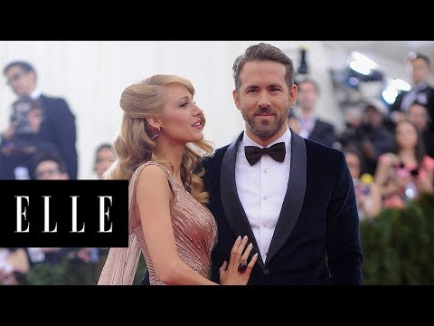 The Real Life, Rom-Com, Love Story of Blake Lively and Ryan Reynolds | ELLE