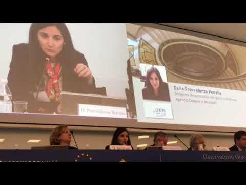 Daria Petralia (Adm) all'Osservatorio Gioco Online 2018