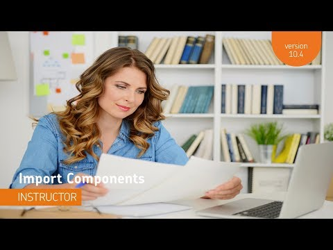 Import/Export/Copy Components - Import Components - Instructor