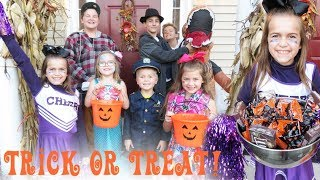 Trick Or Treating on Halloween!! | Crazy8Family
