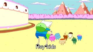 What would you do if there was a child right in front of you ? - Adventure Time Version
