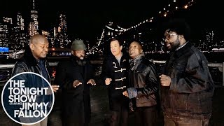 """Jimmy Fallon and The Roots Sing """"In the Still of the Night"""" (Sneak Peak)"""