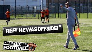 "Sunday League Football - ""REF!! HE WAS OFFSIDE!"""