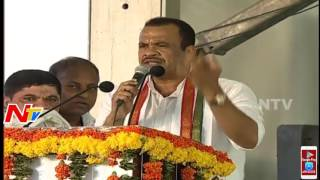 Komatireddy Venkat Reddy Speech @ Rahul Gandhi Public Meet..