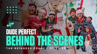 Reindeer Christmas Prank (Behind The Scenes)