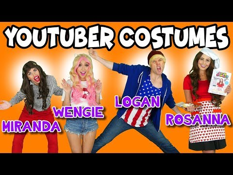 DIY Youtuber Costumes for Halloween: JoJo Siwa, Wengie, Logan Paul and More. Totally TV